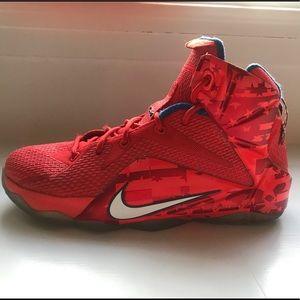 Lebron James Nike boys sneakers size 6